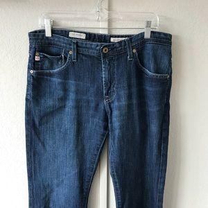 AG THE PROTEGE STRAIGHT LEG dark wash jeans sz 33R